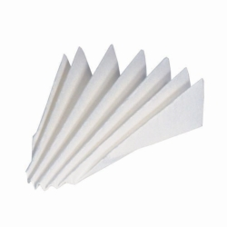 Filter paper, qualitative, type MN 614 1/4, folded filters