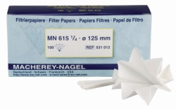 Filter paper, qualitative, type MN 615 ¼, filter circles