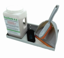 Absorbent, oil and chemical binder FastSorb 4.0