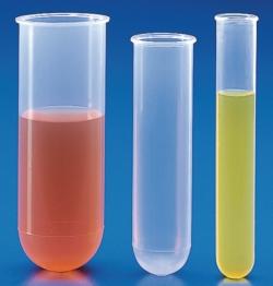 Centrifuge tubes, cylindrical, PP