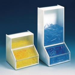 Storage and dispenser boxes, PMMA