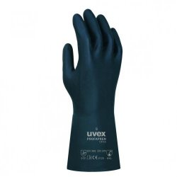 Chemical Protection Glove uvex Profapren CF 33, Chloroprene/Latex