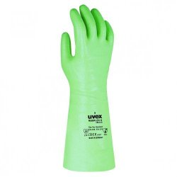 Chemical Protection Gloves uvex Rubiflex S/Rubiflex S, long, NBR