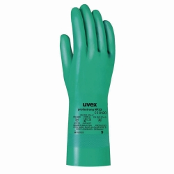 Chemical Protection Glove uvex profastrong NF33, Nitrile