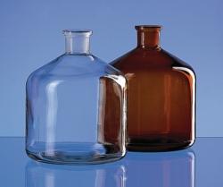 Spare reservoir bottles, glass