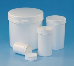 LLG-Sample containers, PS/PP, with tamper-evident cap, PE-LD/PP