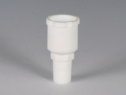 Connectors with ground joint, PTFE for Reactor lids