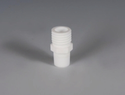 Fittings with connecting thread, PTFE for Reactor lids