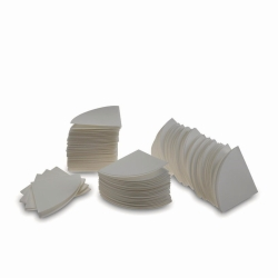 Filter Papers, circles, quadrant folded, cellulose