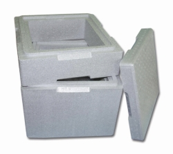 Isolating box with lid, Neopor®