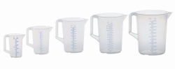 Measuring jugs with closed handle, PP
