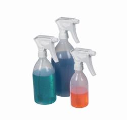 Spray bottle Turn'n'Spray with overhead valve,  PE / PP
