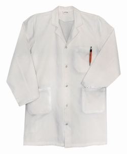 LLG-Laboratory coat, 100% cotton