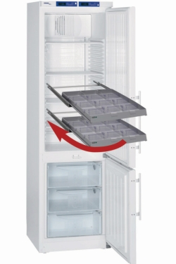 Refrigerator drawers AluCool® including dividers