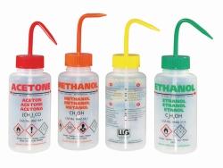 LLG-Safety vented wash bottles, PE-LD