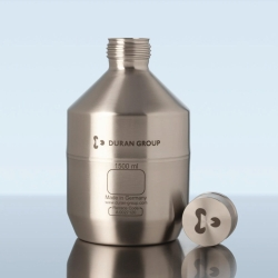 Stainless Steel Bottle, with cap, GL 45, without UN approval