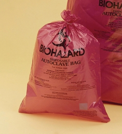 Biohazard Disposal Bags, Super Strength, PP, 50µm