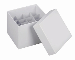 Cryogenic Cardboard Boxes, 145 x 145 and Partitions
