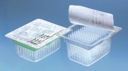 Filter tips racked in TipRack, sterile, BIO-CERT®