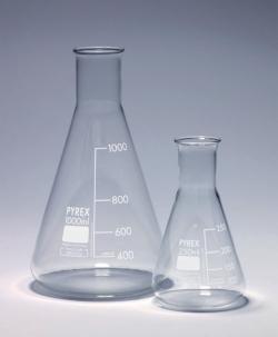 Narrow neck-Flasks, Pyrex®