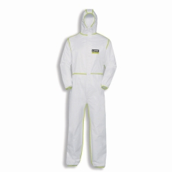 Disposable, chemical protection coverall, uvex 5/6 comfort